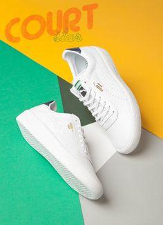 Puma Star.. All white.. Too freshh!!