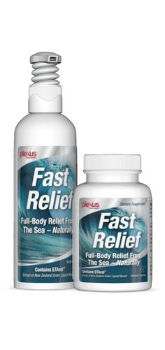 Over 76 million Americans suffer from discomfort each day. If you've been living with discomfort—back problems, muscle tension, joint soreness, headaches, and so forth—you may be wondering how to find real and lasting relief. The good news is Plexus has developed Fast Relief™, a cutting-edge, three-product system with a proprietary ingredient blend that will help you live happier, healthier, and discomfort-free.