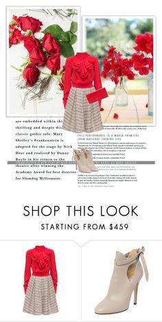 """Untitled #24"" by lara22-1 ❤ liked on Polyvore featuring Dolce&Gabbana, Lattori, Jimmy Choo and Miu Miu"