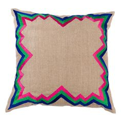 I pinned this Mehmet Pillow from the La Vie Boheme event at Joss and Main!- acid hues