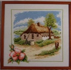 Wiosna X2002r. View Photos, Cross Stitch Patterns, Spring, Frame, Painting, Decor, Picture Frame, Decoration, Painting Art