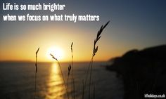 For never losing sight of what matters... #GoodMorning  #Quotes #Inspiration