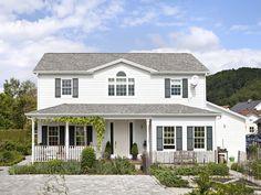 Amerikanische Häuser, Holzhaus, Holzrahmenbau, Bauweise, Foto: BostonHaus