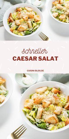 Cesar Dressing, Salad Dressing, Salad Recipes, Snack Recipes, Healthy Recipes, Ceasar Salad, Good Food, Yummy Food, Date Dinner
