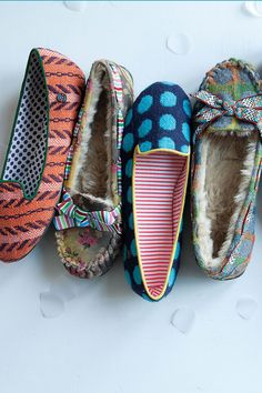 anthro slippers!