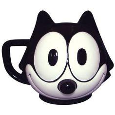 FELIX THE CAT face mug