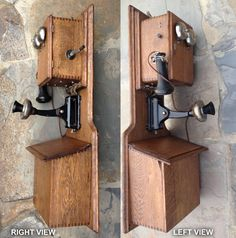 phone number 1 wiring diagram magneto wall telephones details about wesco supply 32 double box antique magneto oak wall telephone a original shape
