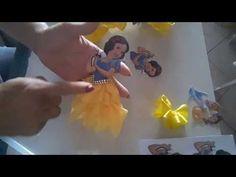 МК Ободок Принцесса СофияDIY Headband Princess Sofia - YouTube