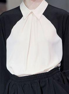 Buttonless Blouse - sporty chic fashion details // Limi Feu FW12