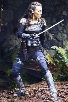 Alycia Debnam-Carey as Lexa • The 100