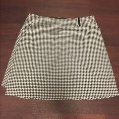Nike Golf Dri fit Skirt Skort Houndstooth size 10 Euc! Nike Shorts Skorts
