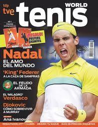 Si lo tuyo es el tenis, de nuevo en la biblioteca Tenis World