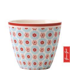 Greengate latte cup Denise pale blue
