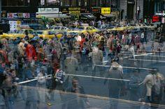 ERNST HAAS ESTATE | COLOR: NEW YORK Motion Crosswalk I, 1970s