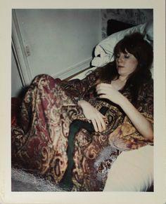 Pamela Courson in Paris, 1971. Photo taken by Jim Morrison