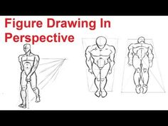 Figure Drawing Lesson 4/8 - How To Draw The Human Figure In Perspective