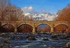 Il ponte di San Giorio. Visto dall'acqua è ancora più bello #myValsusa 13.11.16 #fotodelgiorno di Bruno Loi