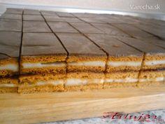 Medové rezy (fotorecept) Butcher Block Cutting Board, Rum, Treats, Baking, Sweet, Holidays, Handmade, Sweet Like Candy, Goodies