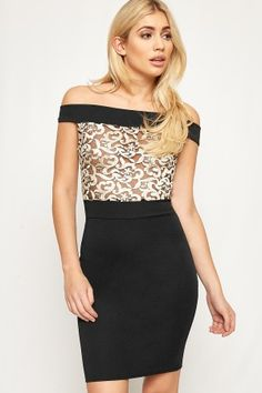 Violet Floral Embroidered Mesh Bodycon Dress-88470-20