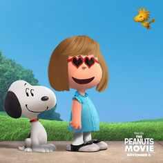 """We are pretty excited about the new #PeanutsMovie in this house. Poppy and I just spent the last hour on PeanutizeMe.com where you can """"peanutize"""" yourself. Here's our favorite Poppy Peanut! Yes they even have saddle oxford options for those who love vintage.  #sp by allieroyall"""