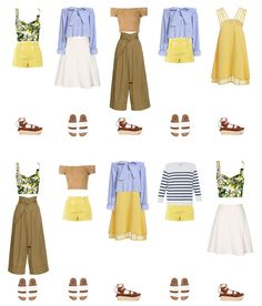 ideas travel clothes women summer my style Spring Fashion Outfits, Trendy Fashion, Girl Fashion, Summer Outfits, Cute Outfits, Womens Fashion, Romantic Style Fashion, Summer Wardrobe, Capsule Wardrobe