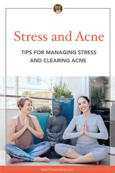 If you're stressed and you notice your acne getting worse, it's important to manage your stress levels and figure out a way to relief some stress. We've listed some of the best ways to stop being so stressed and clear up your skin in the process! #managingstress #stressmanagement #wellnesstips #skincaretips #acne Korean Beauty Tips, Congested Skin, Healthy Skin Tips, Acne Causes, Best Acne Treatment, Stress Relief Tips, Acne Solutions, Chronic Stress, Anxiety Tips