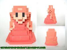 [the legend of zelda universe] princess zelda 3D 8-bits