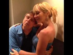 Mark Hamill and Tara Strong as Joker and Harley. The original Vine is here: https://vine.co/v/heaahBYW1Ou And yes, Ms. Strong isn't Arleen Sorkin, but I think she's a good replacement.