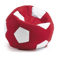Pouf Boll, rouge