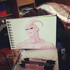 #promarker #bu #dragonballz #drawing