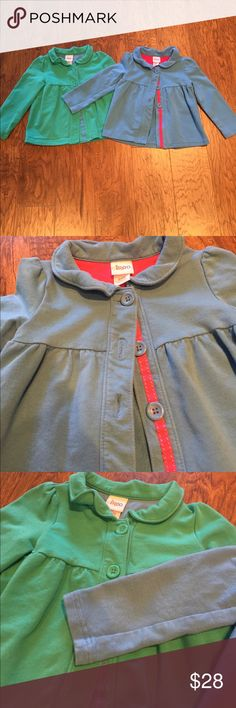 Circo Jackets Set Of 2 coats! Blue and green, would be perfect for twins too!! Can be separated as well, just ask! Circo Jackets & Coats