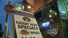 We visited Maroon's Sports Bar in Pottsville for a Firefighter Hot Wing Challenge.