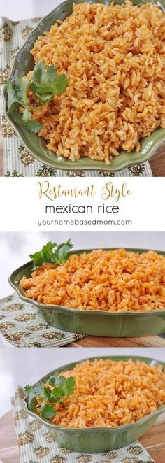 Restaurant Style Mexican Rice. Would be easy to convert for the IP.