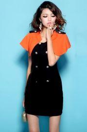 Cape Style σταυρωτός Slim φόρεμα