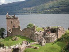 Lago Ness (Scotland).