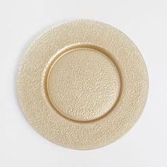 Textured golden plate charger - Plate Charger - Tableware | Zara Home Jordan  sc 1 st  Pinterest & GEOMETRIC MOTIF PLATE CHARGER - Dinnerware - Tableware | Zara Home ...