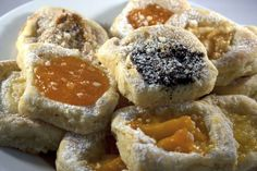 European Kolacky A favorite cookie with many options.  Try any fruit filling for a delicious treat.
