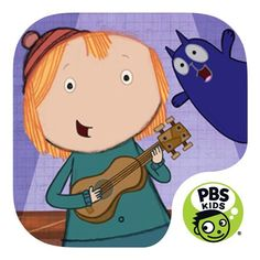Peg + Cat Big Gig App | Tune up your ukulele and get ready to rock! In this fun app from PBS KIDS, children ages 3 to 6 practice math skills by learning and creating songs. (Available for Android Tablet, Kindle Tablet, & iPad).