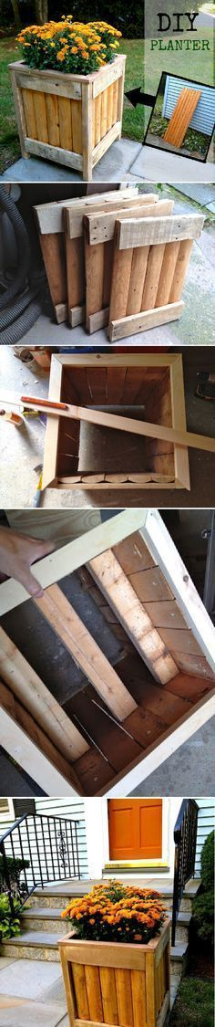 DIY Wooden Planter For Just $3