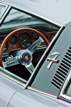 Images of Steering Wheels by Jill Reger - Steering Wheel Images -   1971 Iso Grifo Can Am Steering Wheel Emblem