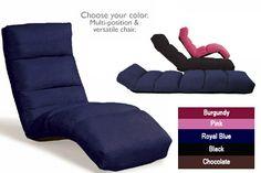 Rocker Microfiber Convertible Gaming Lounge Chair
