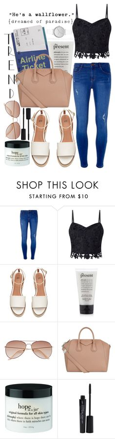 """""""Run away with me"""" by aqus02 ❤ liked on Polyvore featuring Dorothy Perkins, Lipsy, H&M, Givenchy, Smashbox, Skagen and Wallflower"""