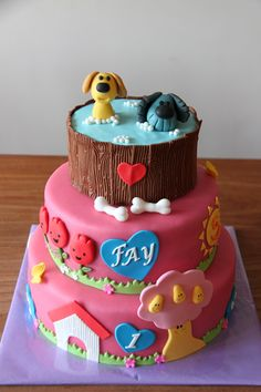 Woezel en Pip cake