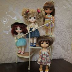 New dress for my dolls !#latidoll
