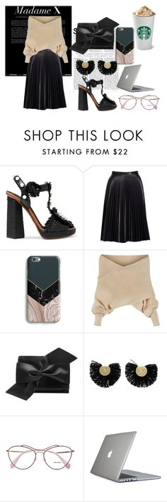 """work"" by carriebradshaw-ii on Polyvore featuring Tasha, Dolce&Gabbana, Cusp by Neiman Marcus, Harper & Blake, WithChic, Victoria Beckham, Katerina Makriyianni, Miu Miu and Speck"