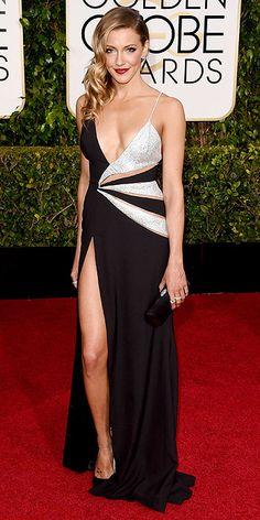 Katie Cassidy Golden Globe Awards 2015: Arrivals