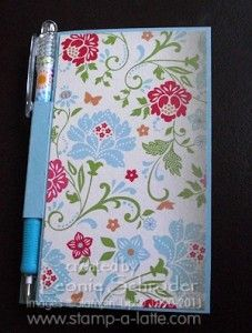 Post It Note holder