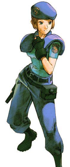 Marvel vs. Capcom 2: Jill Valentine (Resident Evil)