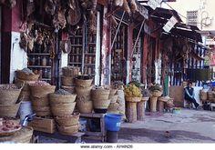 Marrakech zoco - Stock Image