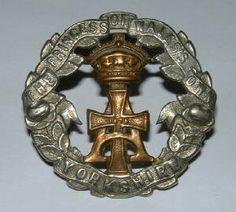 Yorkshire Regt pre 1902 cap badge